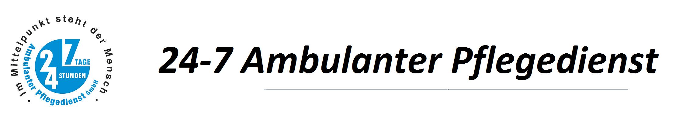 24-7 Ambulanter Pflegedienst